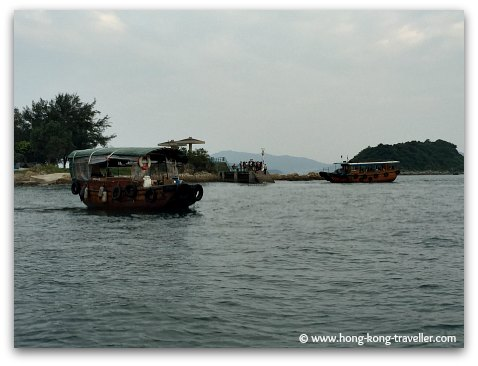 Sai Kung Boat Tours Sharp Island