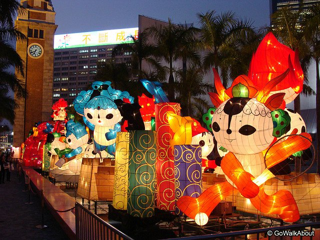 spring festival and lantern festival The year of the dog has just started, and the yuyuan garden in shanghai has  began hosting the 2018 lantern festival for the upcoming chinese new year.