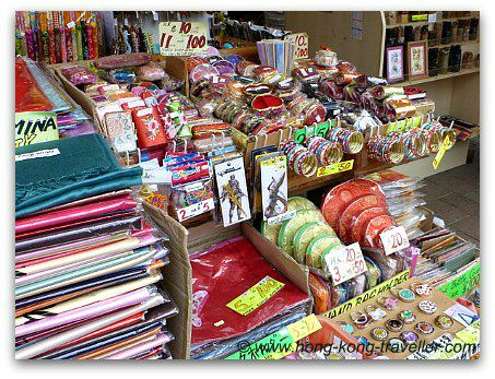Stanley market - shopping for souvenirs