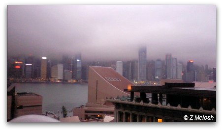 Stormy Day in Hong Kong