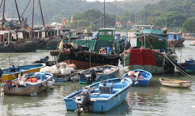 Tai O Harbour