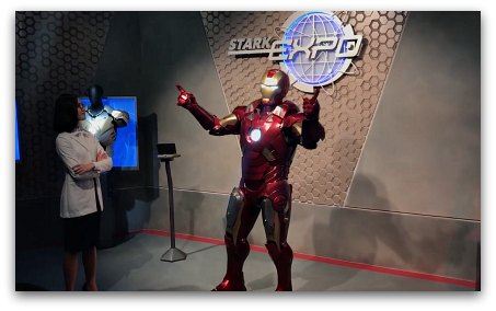 Tomorrowland HK - Iron Man Experience