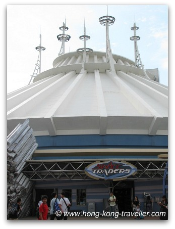 Tomorrowland HK - Space Mountain