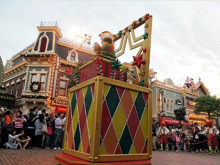 Hong Kong Disneyland Toy-Riffic Christmas Parade