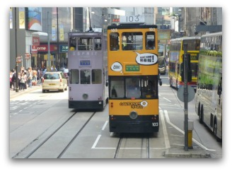 Ding Ding Tram near Central