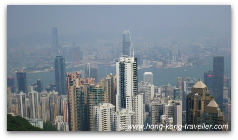 Hong Kong Victoria Peak Views from the Peak Galleria