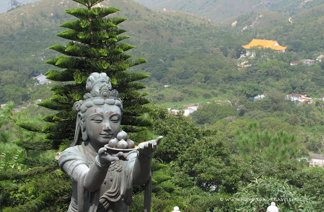 Views of Lantau Island from Big Buddha