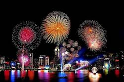 Hong Kong Fireworks Cruise Chinese New Year 2018