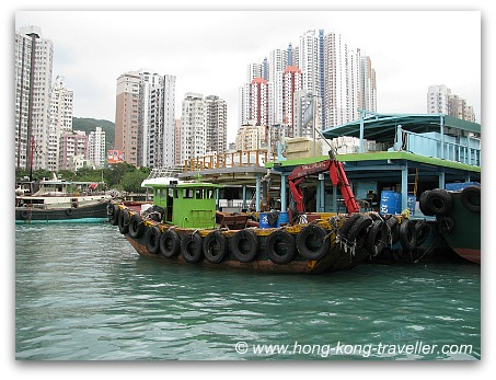 Aberdeen Sampan Rides - Floating Village