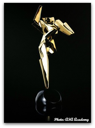 Asian Film Award Trophy