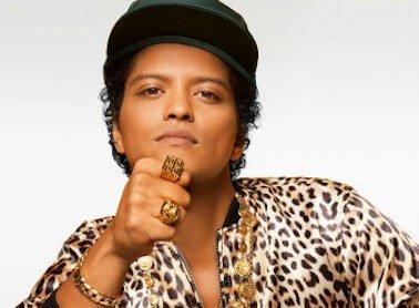 Bruno Mars in Hong Kong