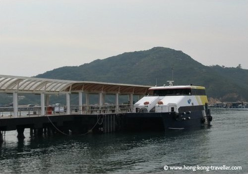 Ferry from Central at the Sok Kwu Wan pier