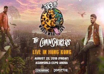 The Chainsmokers in HK
