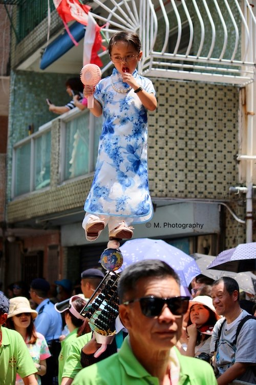 Cheung Chau Bun Festival Parade Floating Children