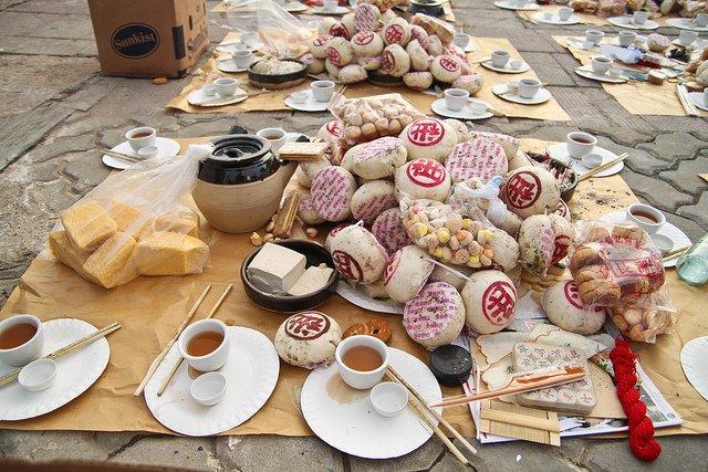 Cheung Chau Bun Festival Food Offerings