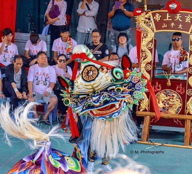 Cheung Chau Bun Festival Parade Lions