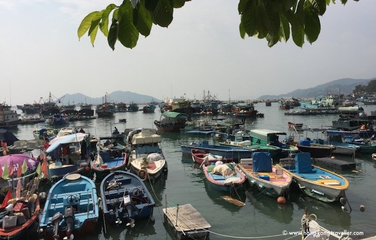 Cheung Chau Island and Harbour