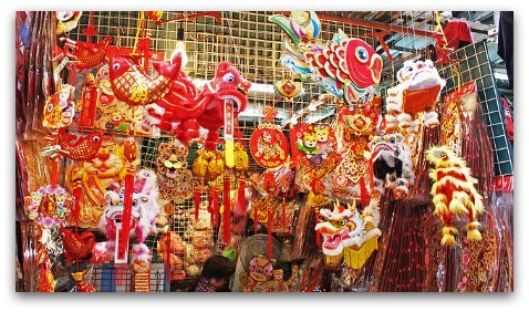 Chinese Festival Decorations for Chinese New Year