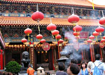 Hong Kong Chinese New Year Temples
