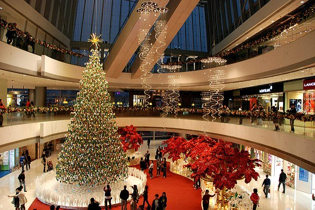 Christmas Decorations at IFC Mall