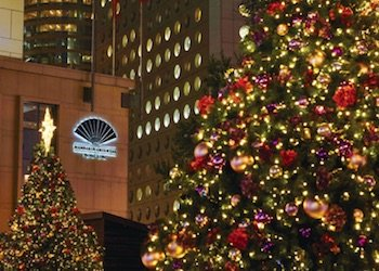 Mandarin Oriental and Christmas Trees