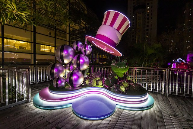 Starlight Gardens Hong Kong Alice in Wonderland