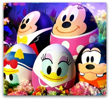 Disney Springtime Egg Stravaganza Easter Eggs with Disney Characters