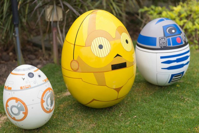 Disney Springtime Egg Stravaganza Easter Eggs with Star Wars Characters