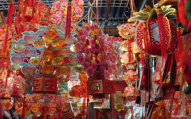 February in Hong Kong, Chinese New Year Decorations