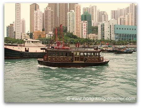 Free Ferry to Jumbo Floating Restaurant