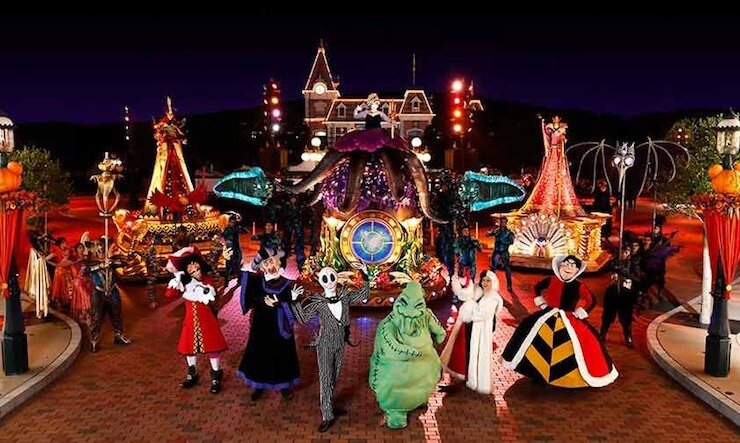 Disney Villains at Halloween