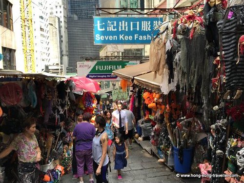 Halloween Trinkets in Hong Kong Pottinger Street Market