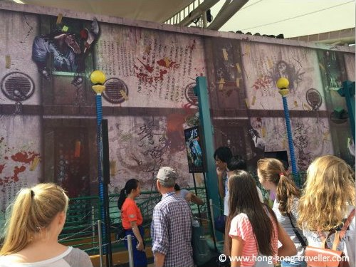 Haunted Houses during Halloween at Ocean Park