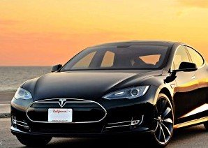 Airport Transfers for  up to 3 on a Tesla