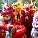 Hong Kong January Events: Lion Dances