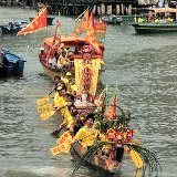 Hong Kong June Events Tai O Water Parade