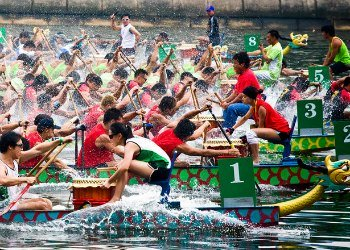 Dragon Boat Racing in Hong Kong