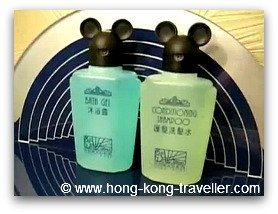 Hong Kong Hollywood Hotel Mickey Shampoo