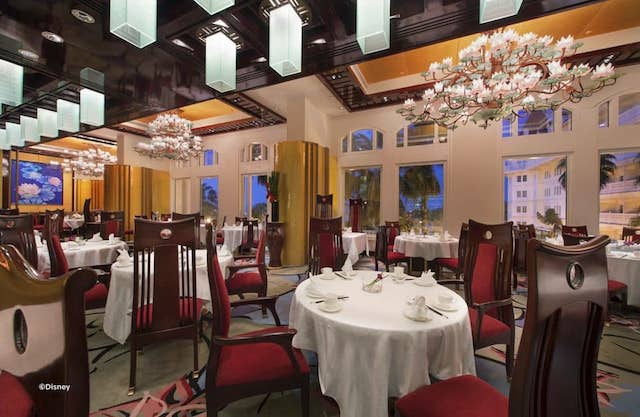 Hong Kong Disneyland Hotel REstaurants