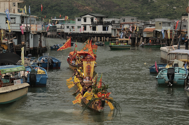 Dragon Boat Festival Parade in Tai O