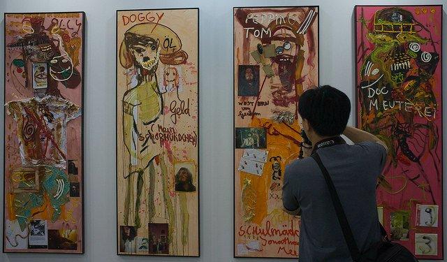 Exhibit at Art Basel HK