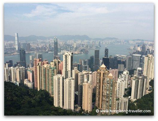 Hong Kong Neighborhoods: MidLevels Residential Buildings