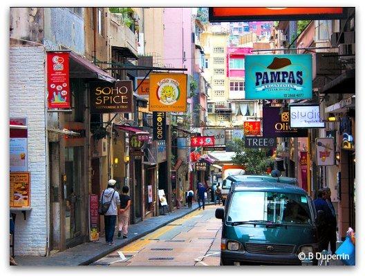Hong Kong Neighborhoods: SoHo Bars and Restaurants