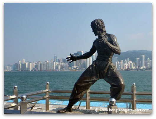 Hong Kong Neighborhoods: Tsim Sha Tsui and the Avenue of Stars in the waterfront