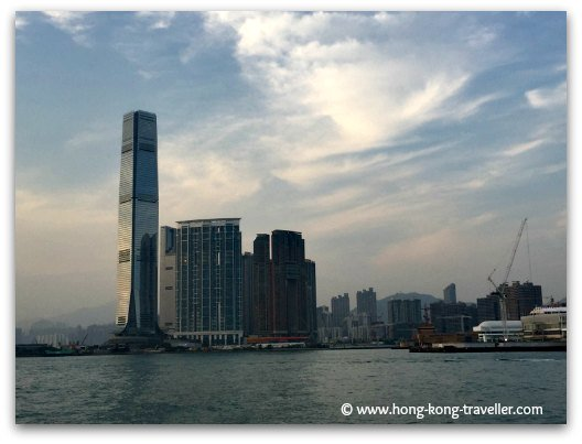 Hong Kong Neighborhoods: West Kowloon skyline