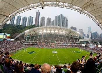 Hong Kong Rugby Sevens at Hong Kong Stadium