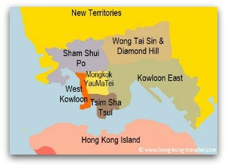 Hong Kong Area by Area: Kowloon