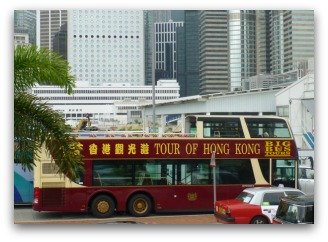 Hop On Hop Off Bus in Hong Kong