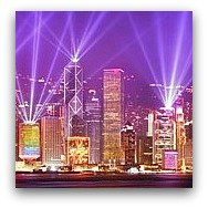 Hong Kong Landmarks: Symphony of Lights