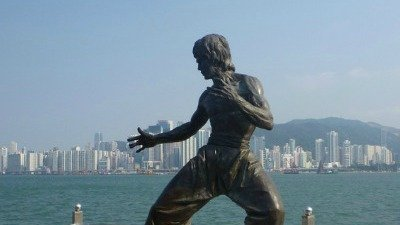 Bruce Lee at Avenue of Stars